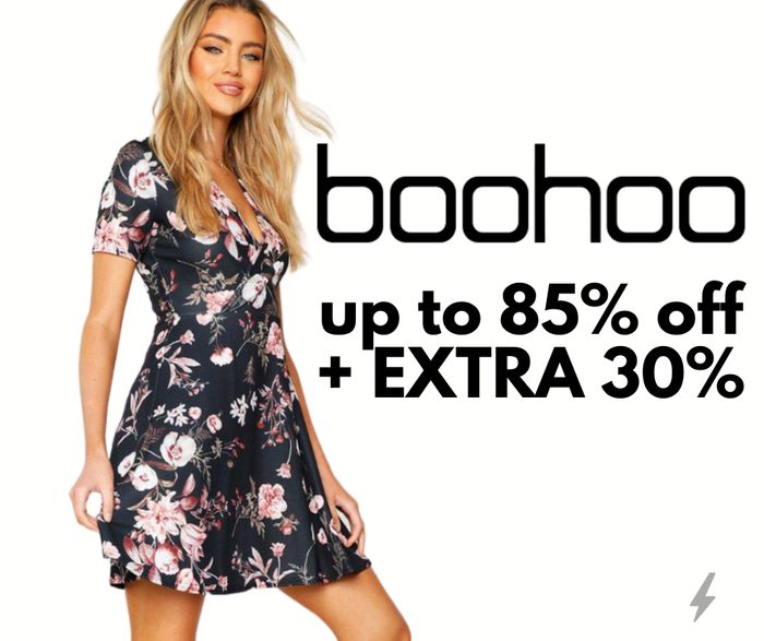 boohoo Up To 85% Off Sale + Extra 30% Code For Singles Day