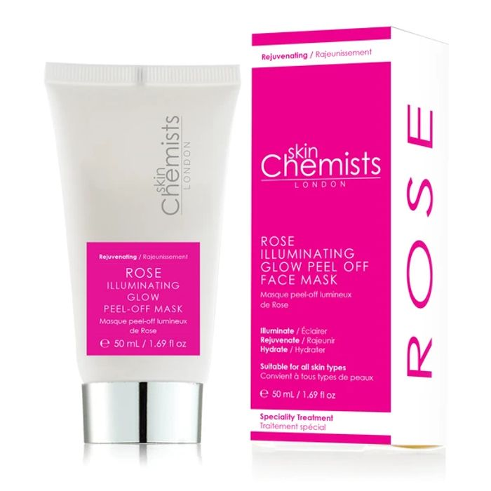 Skinchemists Rose Illuminating Glow Peel off Mask