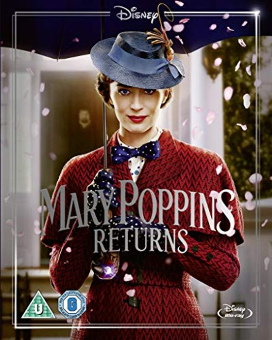 Mary Poppins Returns Blu-Ray (Includes Sing-along Version) - Only £3.99!