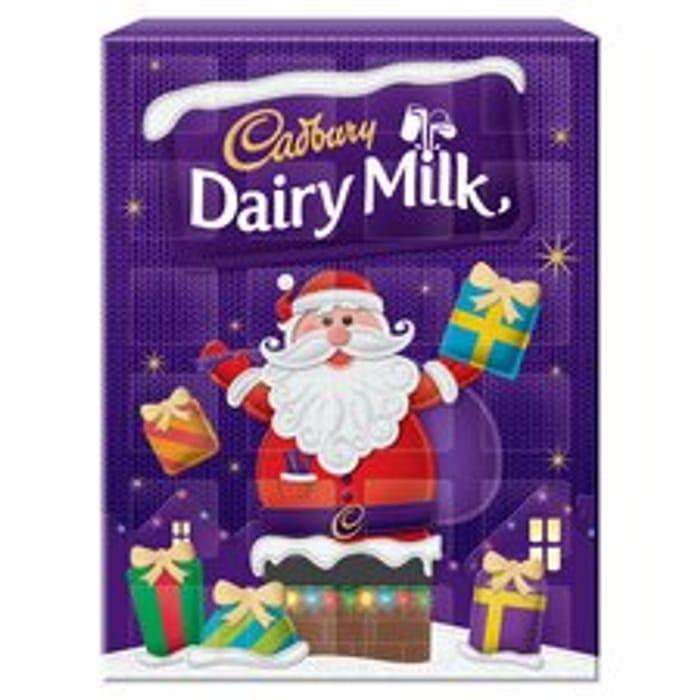 Cadburys Dairy Milk Advent Calendar *24 PIECES - HALF PRICE!