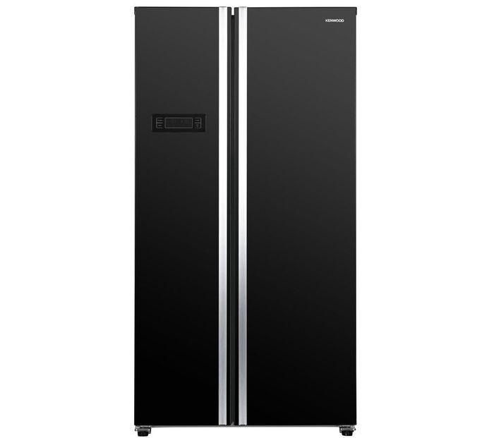 Save £240 - Kenwood American Style Black Fridge Freezer - Black Friday Price