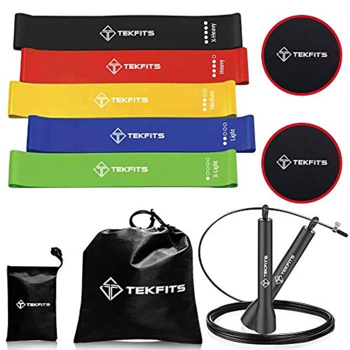 Bargain! Tekfits 10 Pack Exercise Fitness Set