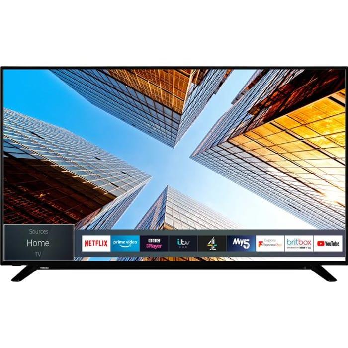 "Best Price! Toshiba 65"" Smart 4K Ultra HD TV *SAVE £120*"
