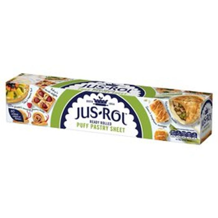 Jus Rol Puff Pastry Ready Rolled Sheet 320g
