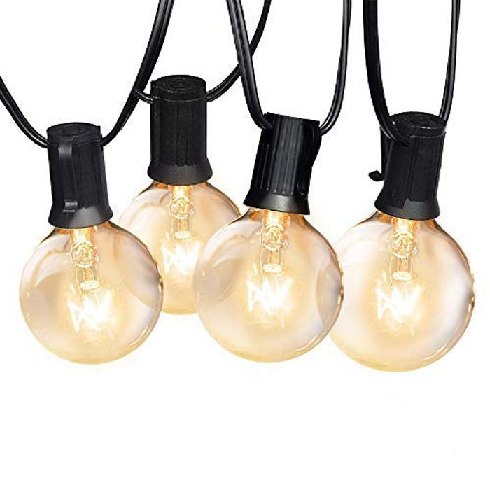 DEAL STACK - Yuusei Outdoor String Lights + 30% Coupon