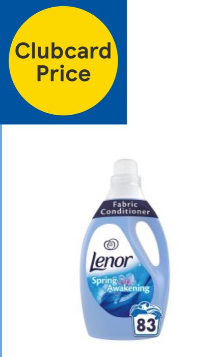 Lenor Fabric Conditioner Spring Awakening /Summer Breeze 2.905L 83 Washes