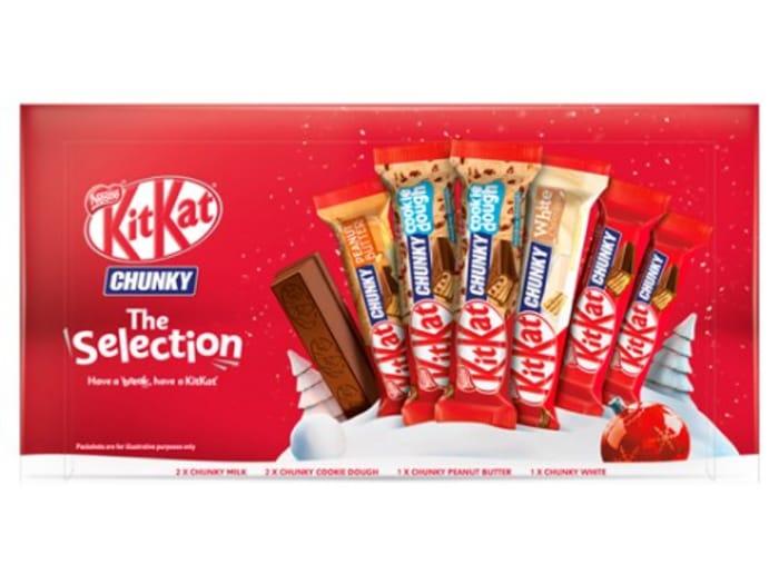 Kit Kat Chunky the Selection Box 221.5G HALF PRICE