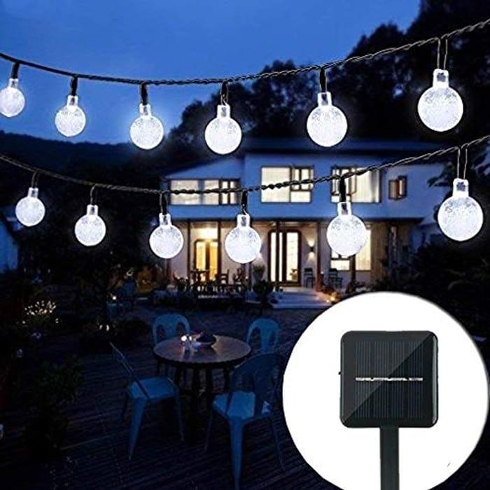 Solar String Lights Garden,
