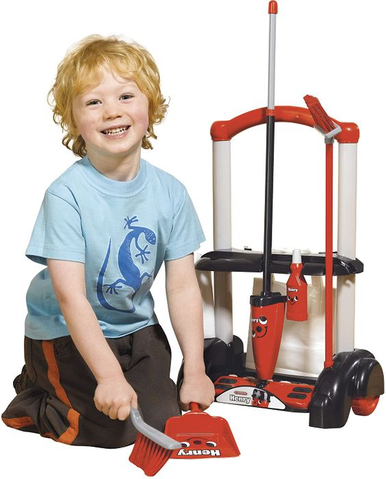 Casdon Henry Cleaning Trolley with 50% Discount!