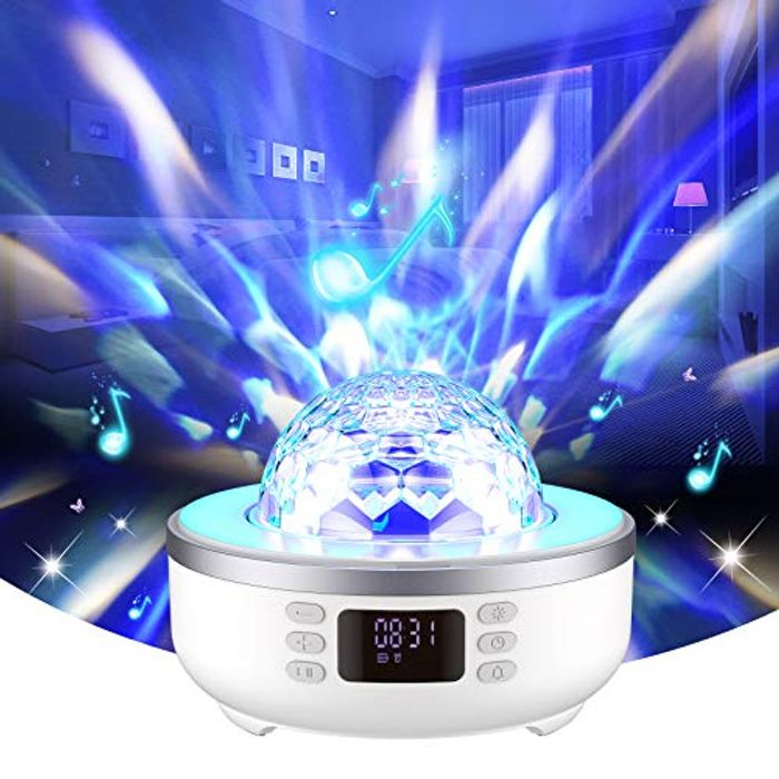 Deal Stack! Star Projector Night Light Bluetooth Speaker