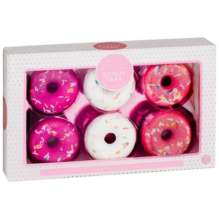 Donut Tray Bath Fizzer Set