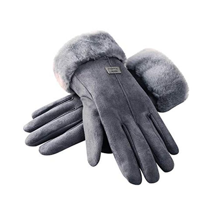 Anti Slip Touch Screen Gloves Warm Lined Windproof Gloves