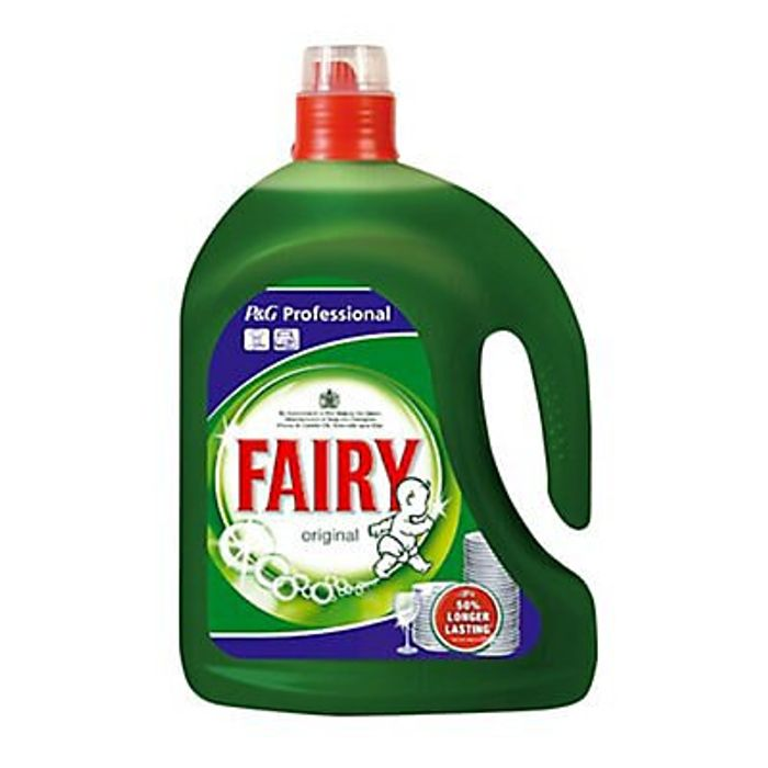 Fairy Professional Unscented Washing up Liquid, 2.5L