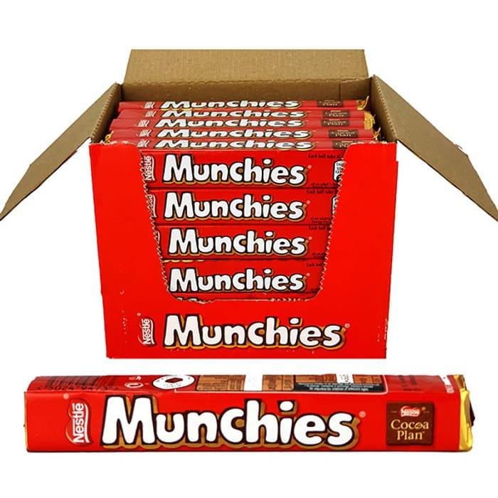 36 X Nestle Munchies 52g Packs