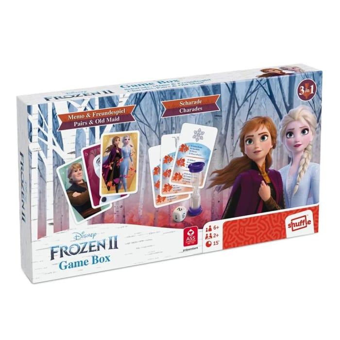 Disney Frozen II 3 in 1 Game Box