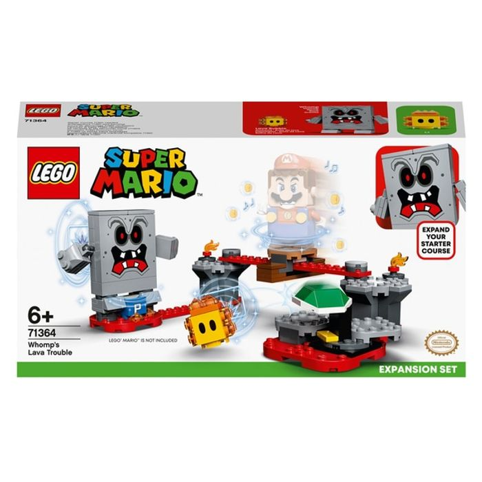 LEGO 71364 Super Mario Whomps Lava Trouble Expansion Set - Only £14.49!