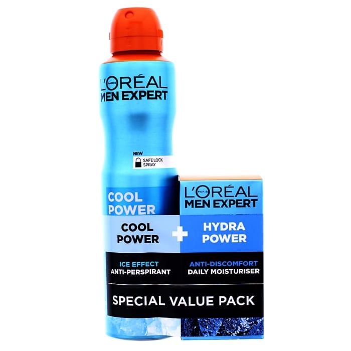 L'Oreal Men Expert Anti-Perspirant & Daily Moisturiser Gift Set