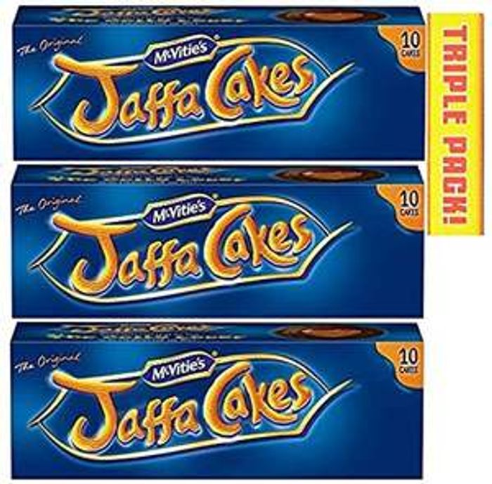 3 X Mcvitie's Jaffa Cakes 30 Cakes in All - Only £1!