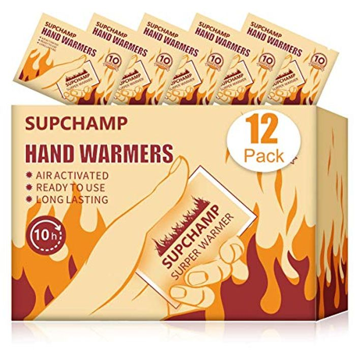 12 X Hand Warmers for Only £3.99!