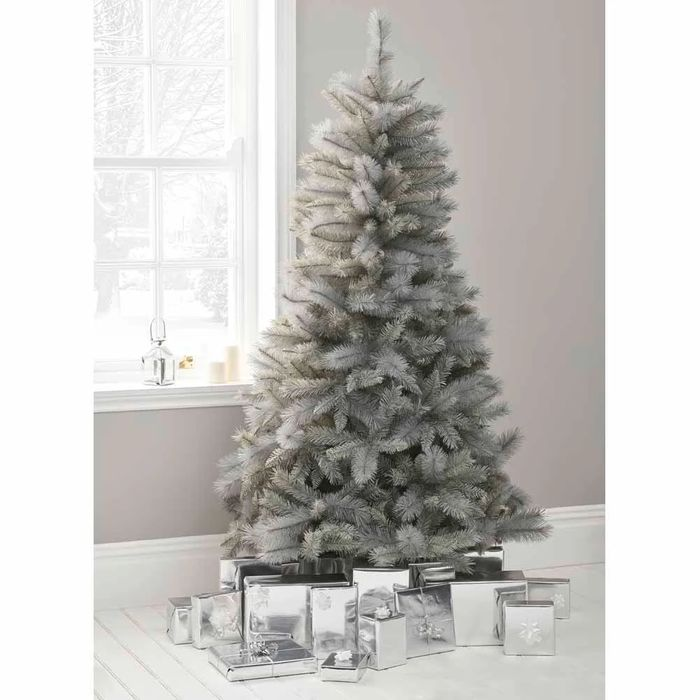 *SAVE £20* Wilko 6ft Twilight Grey Spruce Artificial Christmas Tree