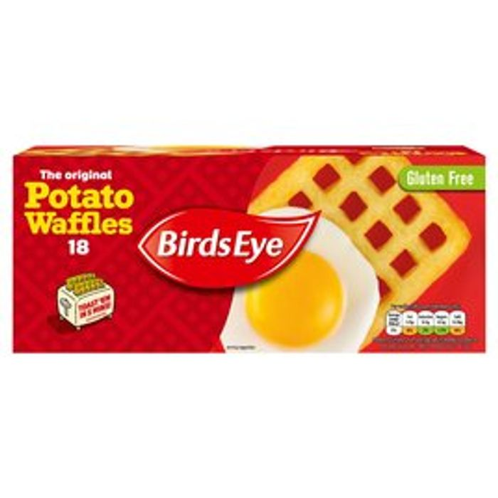 Birds Eye 18 the Original Potato Waffles 34%off at Morrisons