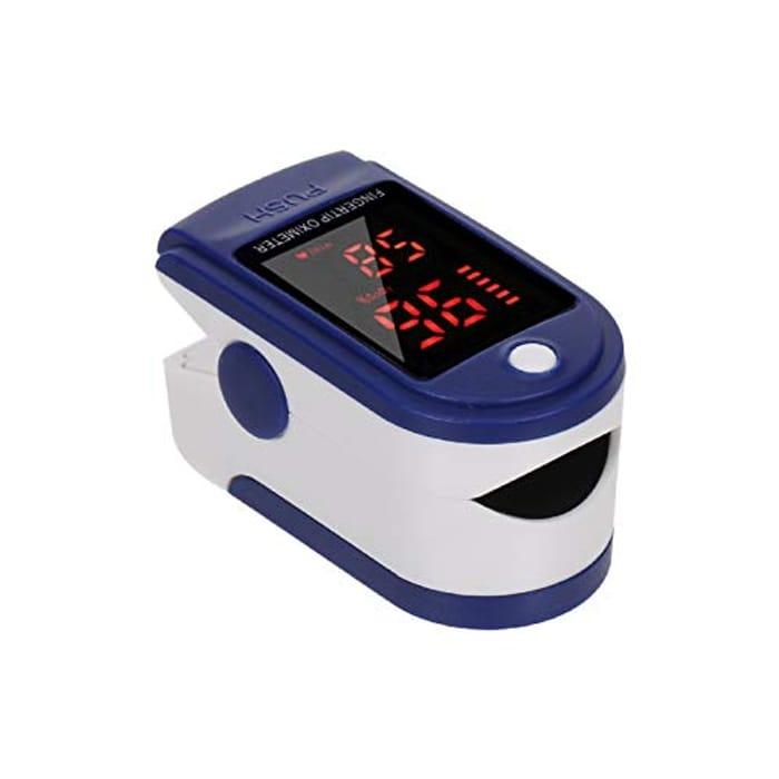 Pulse Oximeter - Measure Oxygen in Blood - 70% off Code