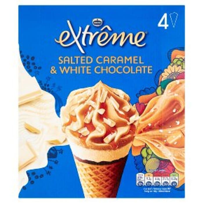 Extreme Salted Caramel & White Chocolate4x120ml