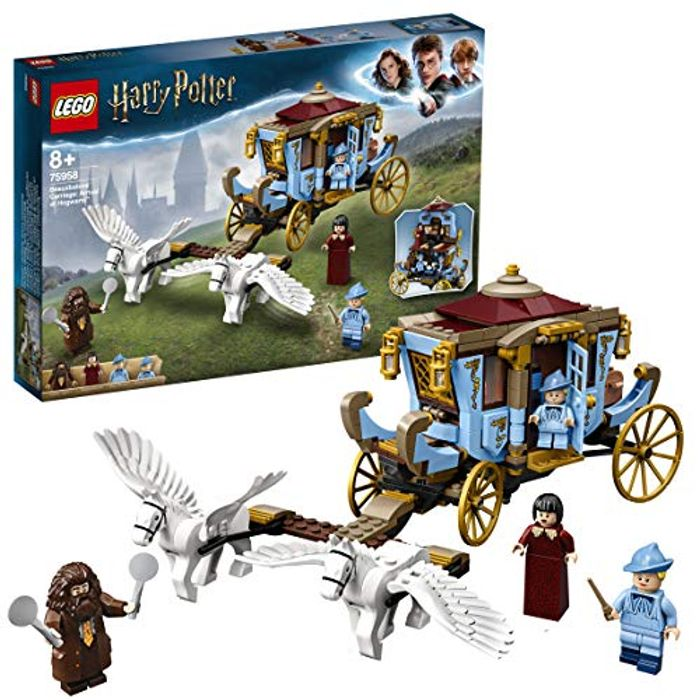 LEGO 75958 Harry Potter Beauxbatons Carriage: Arrival at Hogwarts Set