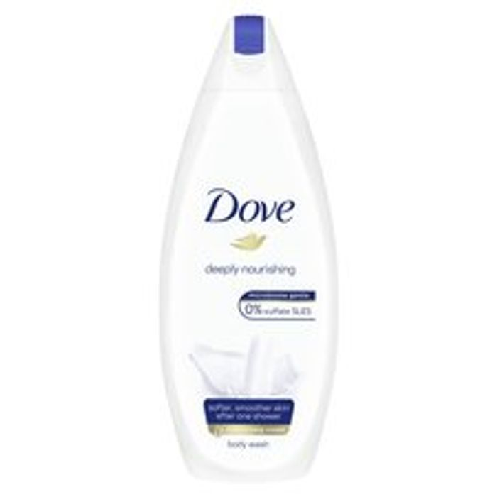 Reduce to Clear Dove Deeply Nourishing Body Wash 225Ml Available Online/In Store