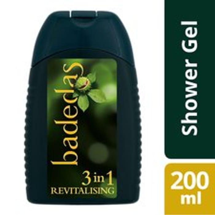 Badedas Revitalising Shower Gel , Shampoo & Conditioner 200Ml Clubcard Price