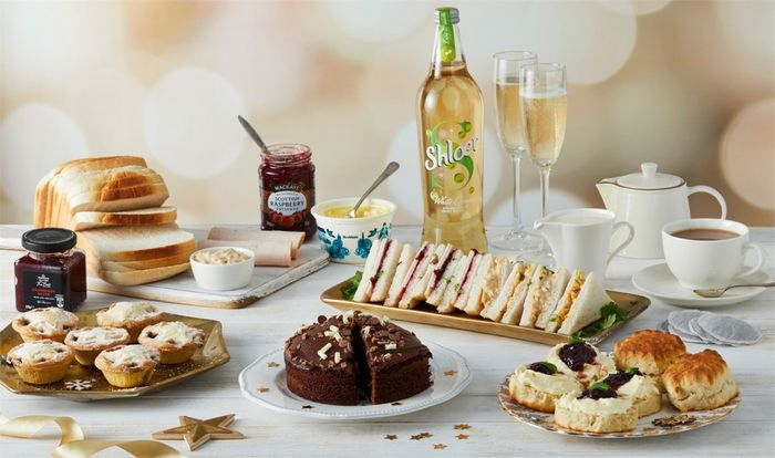 Festive Afternoon Tea Box - £15 Delivered With Code - More in Post