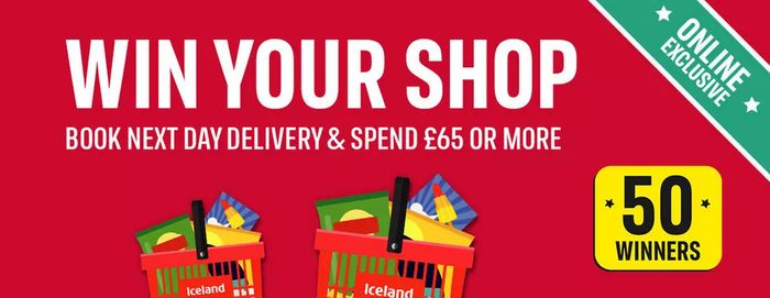 Win Your Iceland Shop (Purchase Required)