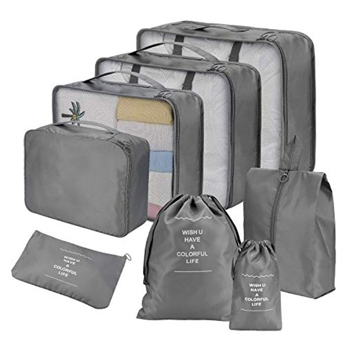 Set of 8 Travel Bags