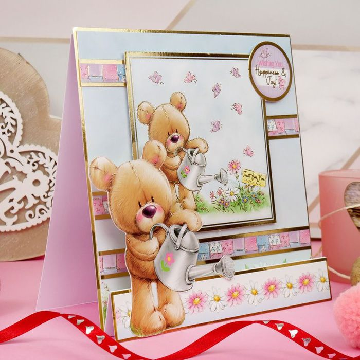 Free Bear Hugs Craft Card Making Kit