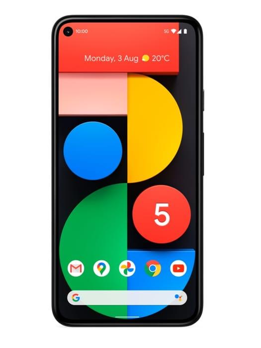 Google Pixel 5 128GB 5G Smartphone + FREE Google Nest Audio & YouTube Premium