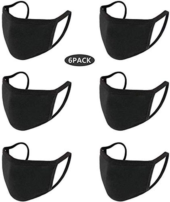 Half Price- Reusable Face Masks Pack of 6