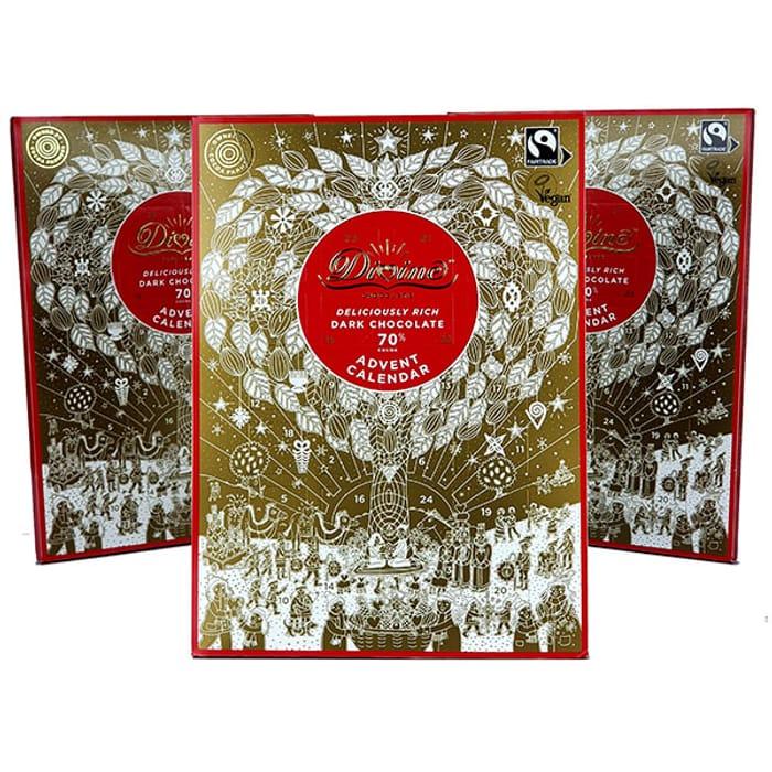 3 Divine Dark Chocolate Vegan Advent Calendars