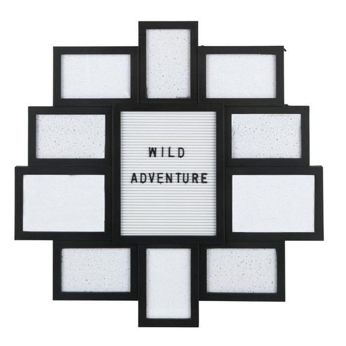 Argos Home 10 Aperture Letter Board and Photo Frame