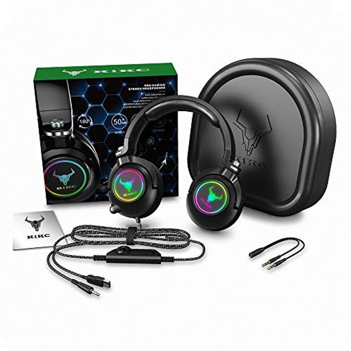 ET600 Xbox One Headset, PS4 Headset for PS5, PSP, PC... (Lightning Deal & Code)