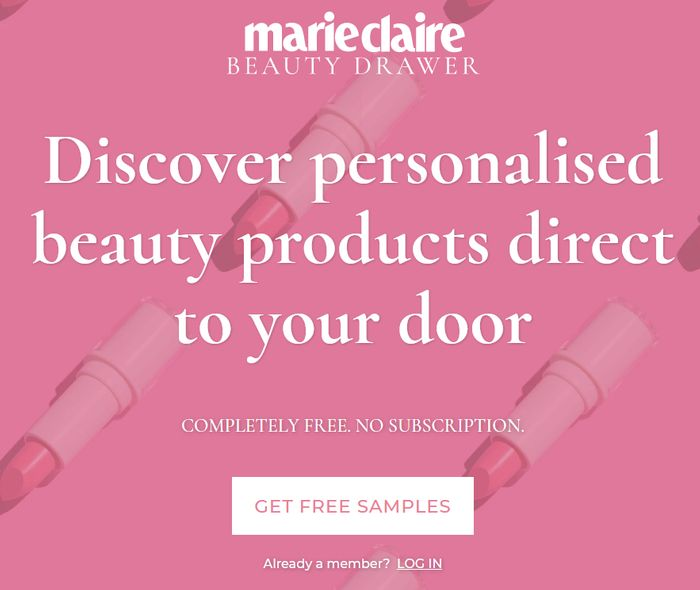 FREE Beauty Sampling Service - Marie Claire Beauty Drawer