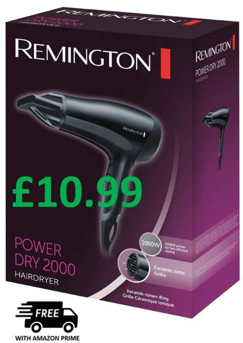 Remington PowerDry 2000 Hair Dryer **4.6 STARS**