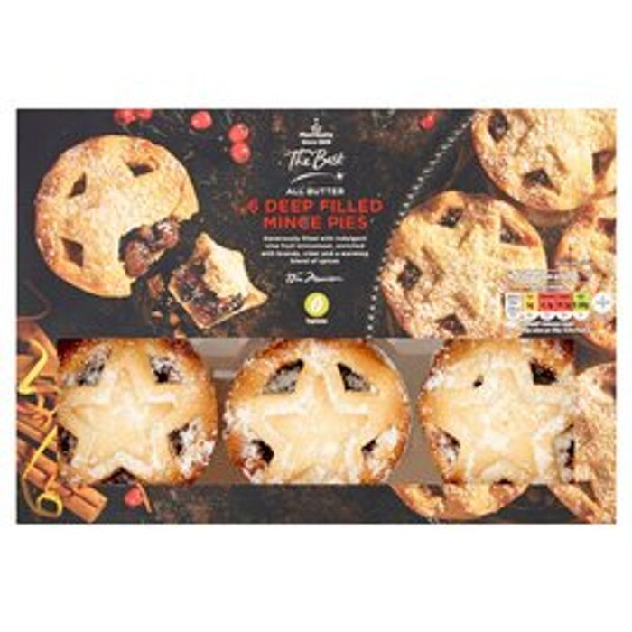 Morrisons the Best Deep Filled Mince Pies 6pk