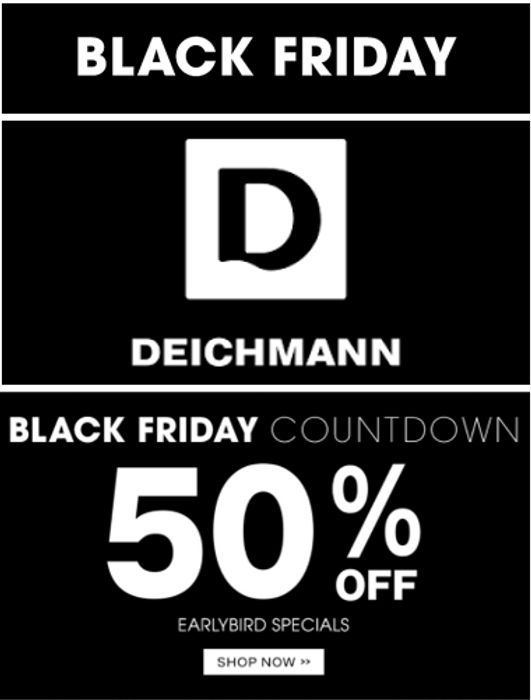 Deichmann Shoes & Boots - BLACK FRIDAY SPECIALS!
