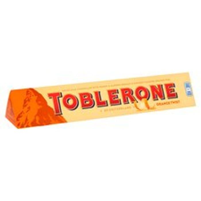 Toblerone Orange Twist 360G Clubcard Price £4