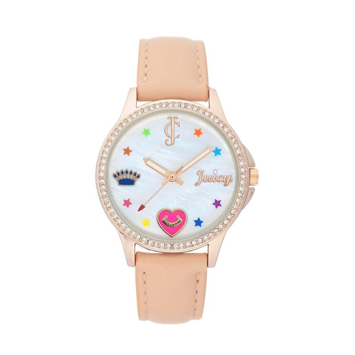 Juicy Couture - Pearl and Rose Ladies Radio Controlled Watch