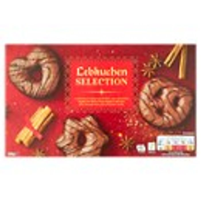 Asda Lebkuchen Milk Chocolate Dipped 500g Biscuit Selection