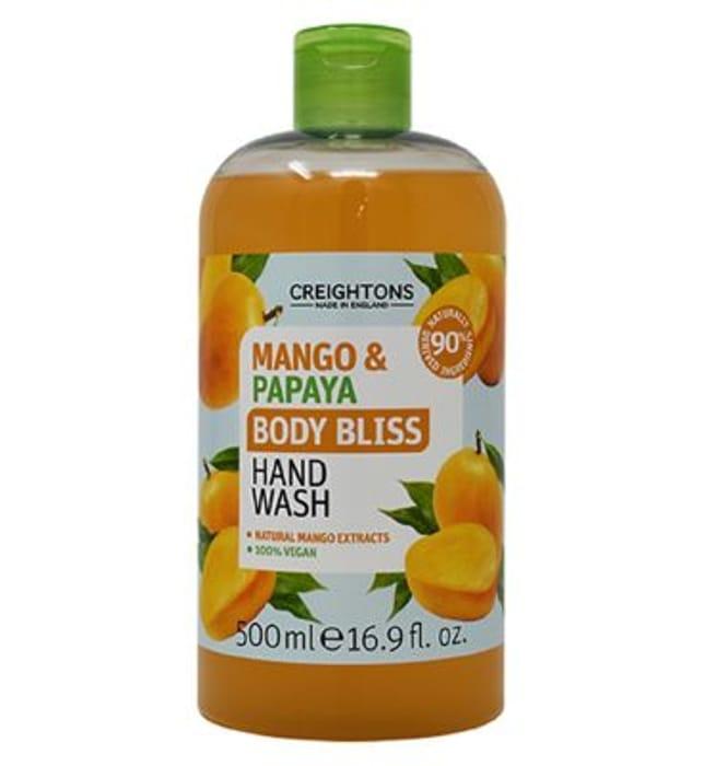 Creightons Body Bliss Mango & Papaya Hand Wash 500ml