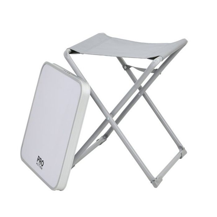 ProAction 2 in 1 Camping Stool and Table