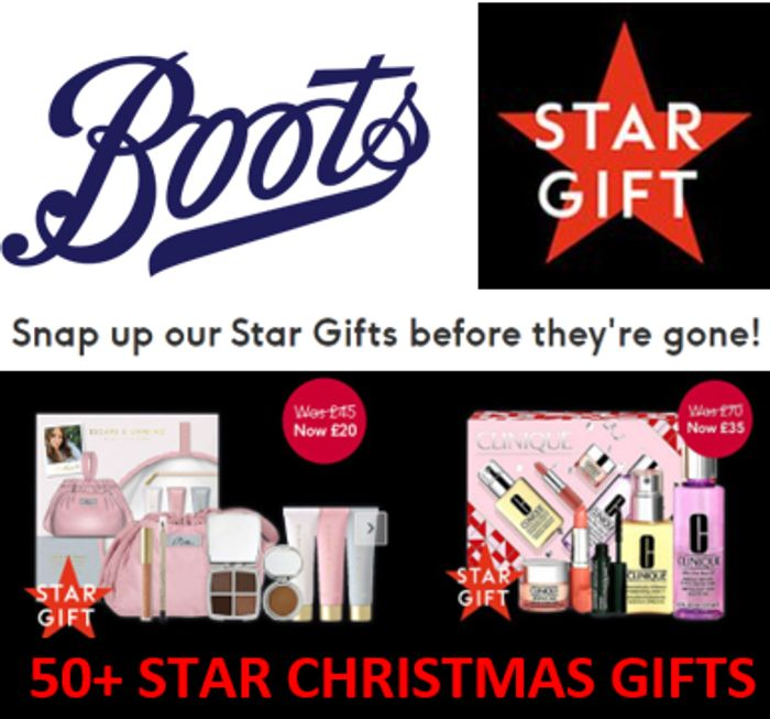 99+ Boots Star Gifts - BETTER THAN HALF PRICE - Christmas Gifts