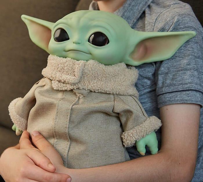 CHRISTMAS 2020 TOP TOY - Star Wars The Mandalorian The Child Plush Toy (MATTEL)